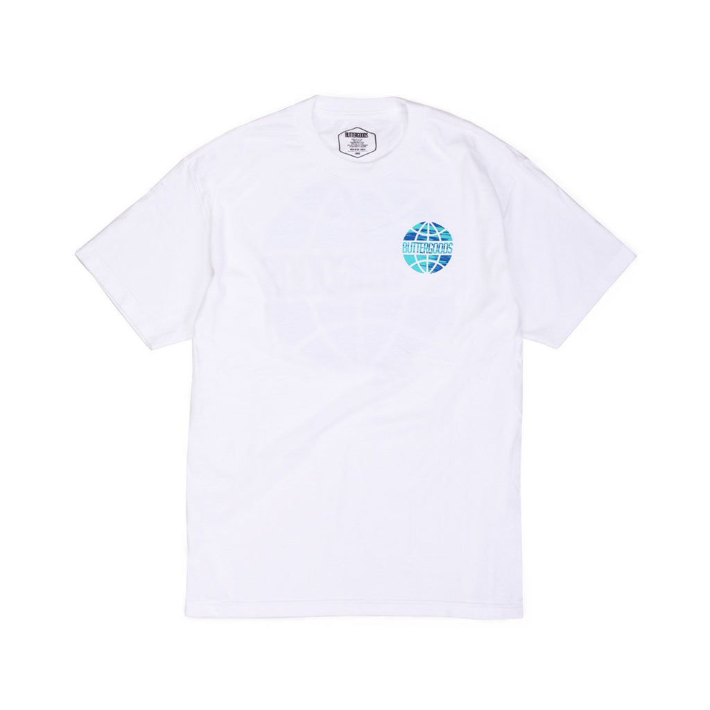 Butter Sports Worldwide Logo T-shirt - White