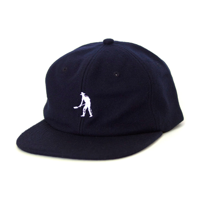 Pass Port Work Hard 6 Panel Polo Cap - Navy