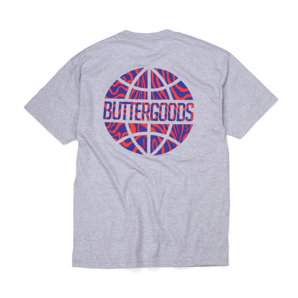 Butter Ankara Worldwide T-shirt - Heather Grey