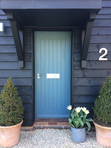 large house number, big house number, statement house number