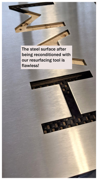 flawless stainless steel, stainless steel surface