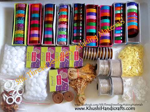 Silk Thread Jewelry Materials / Jewelry findings Online Store !