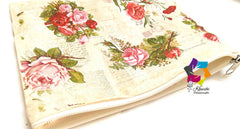 Fabric decoupage