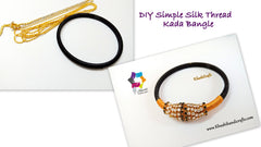how to make silk thread bangle