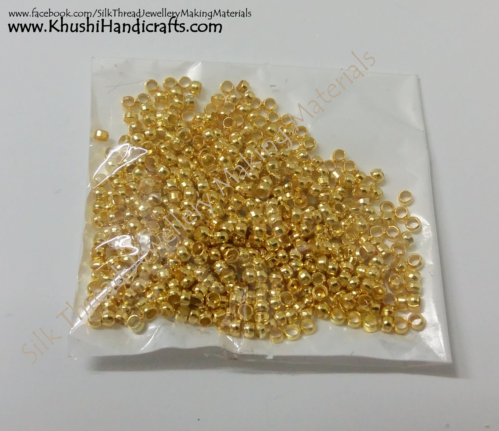 Gear Lock Beads - Khushi Handmade Jewellery
