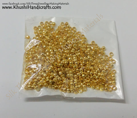 Gear Lock Beads / Crimp beads / Crimping Bead 2mm