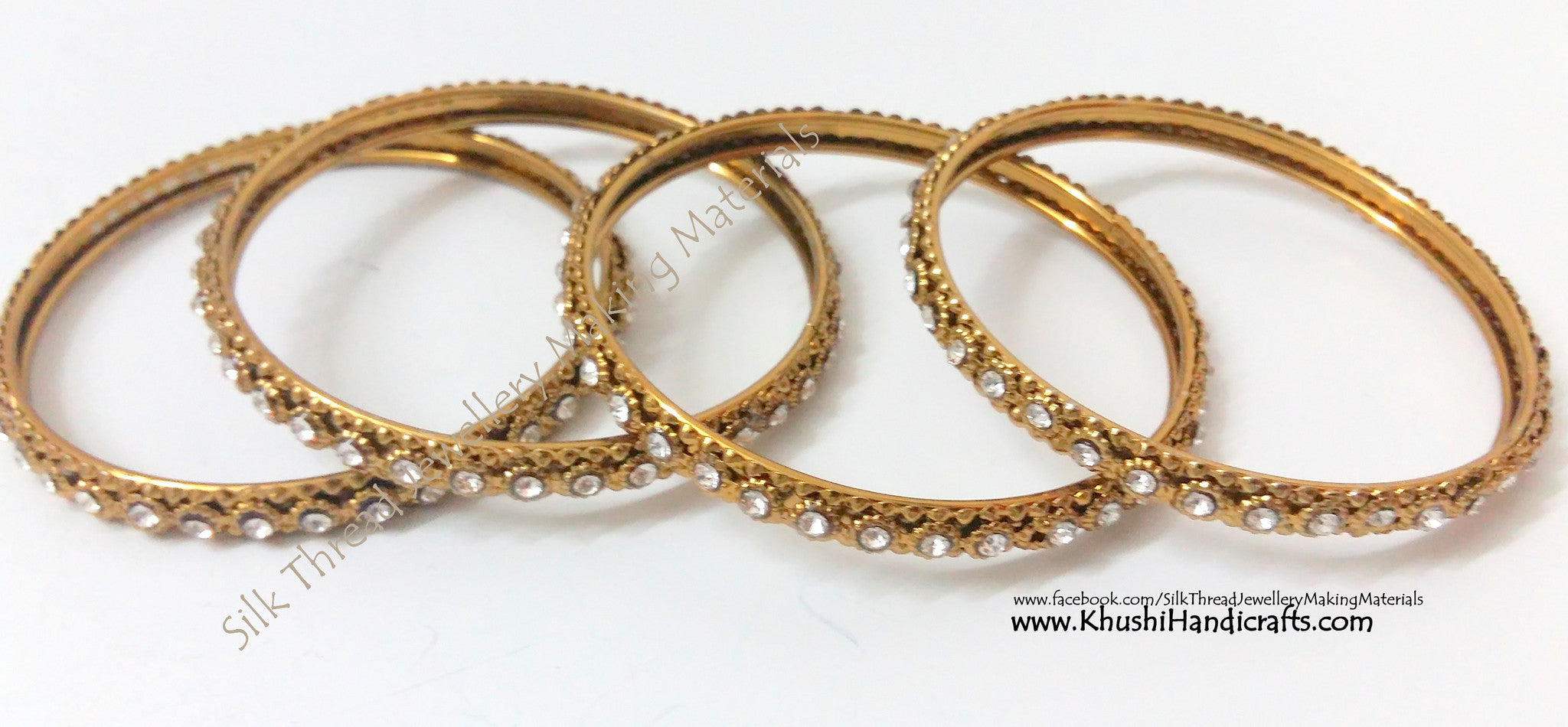 bangles gold metal plated plain shack product jewelberry