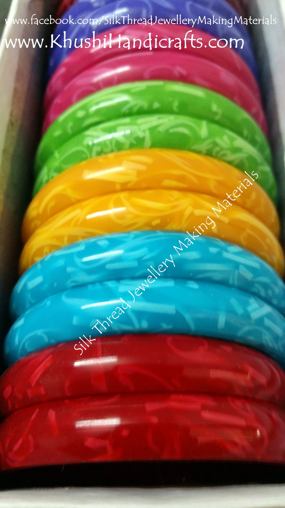 10mm bangke bases for  for Silk thread Jewellery