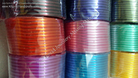 Bangle Bases 3mm Full Box  for Silk thread Jewellery