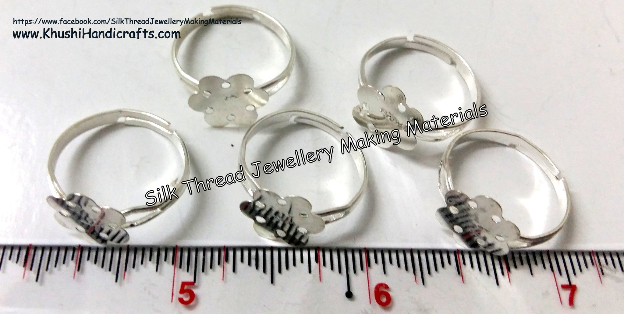 Finger Ring Bases - Khushi Handmade Jewellery