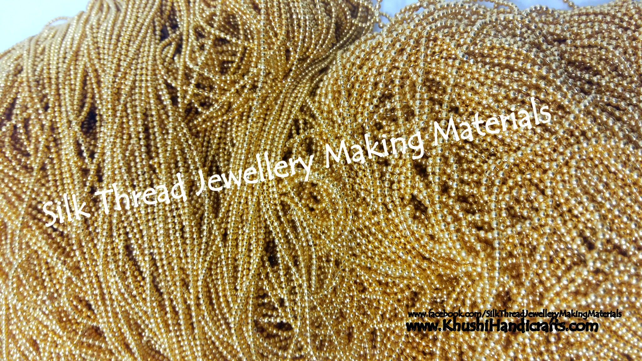 Micro-plated Ball Chain- Bulk - Khushi Handmade Jewellery