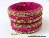 Raw silk /Cloth bangles