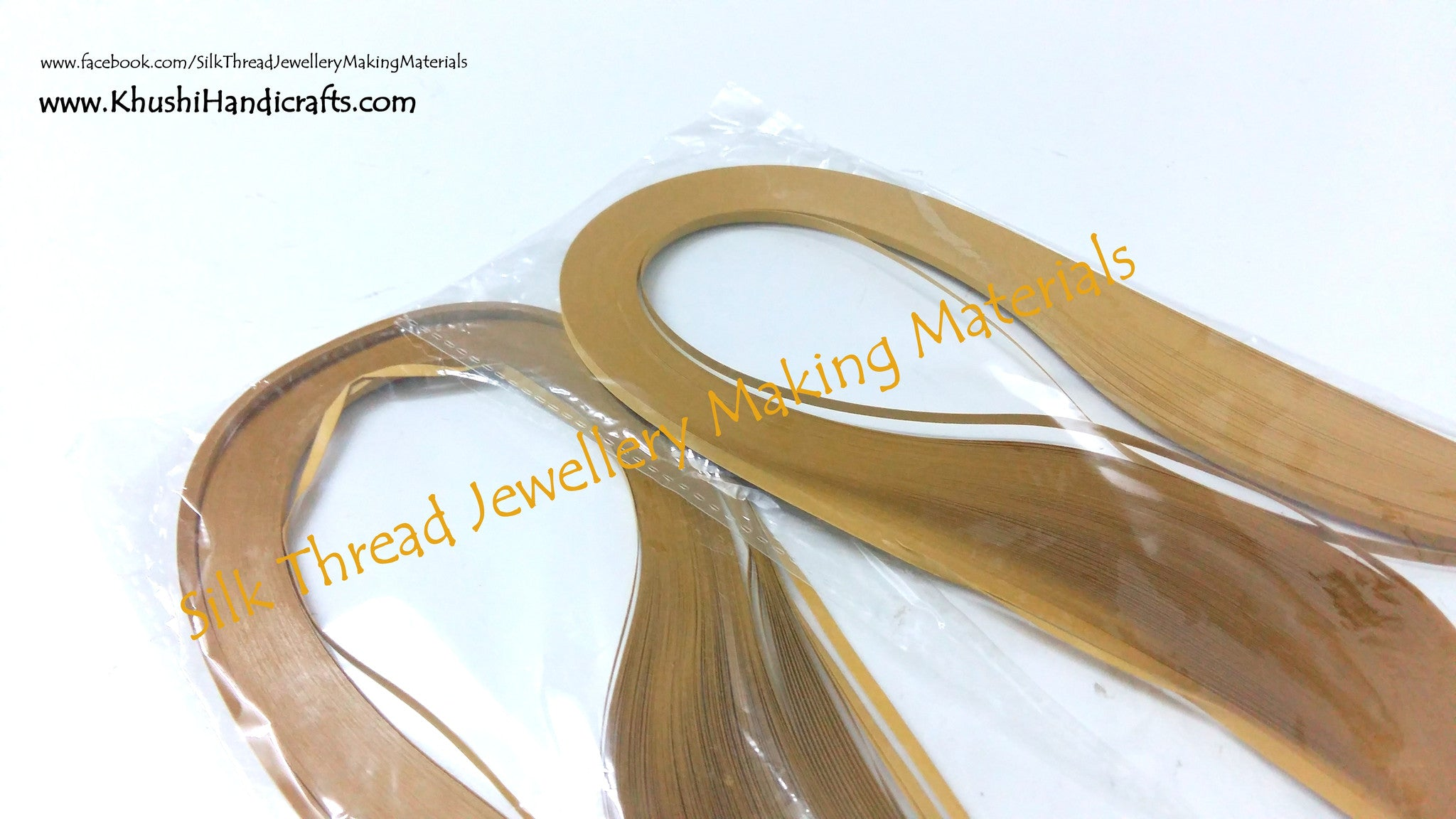 Quilling strips 3mm - Khushi Handmade Jewellery