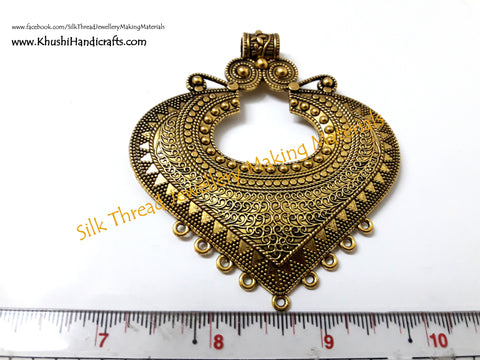 Antique Gold Designer Pendant .Sold per piece!  P013