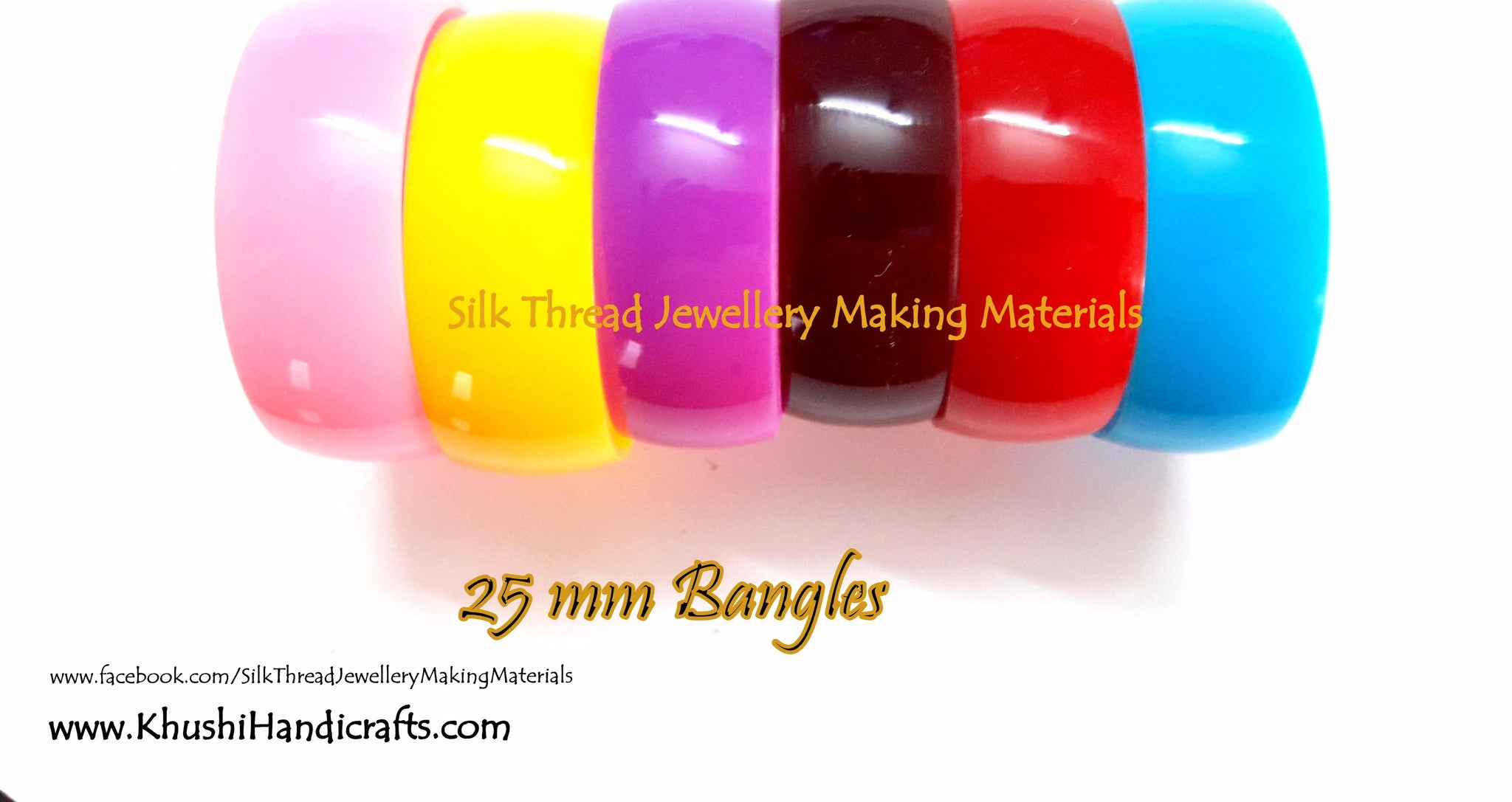 Bangle bases for Silk thread Jewellery