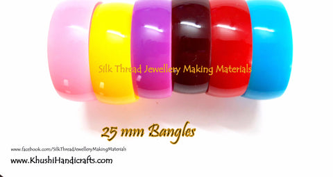 Bangle Bases 25mm Full Box-12 bangles per box