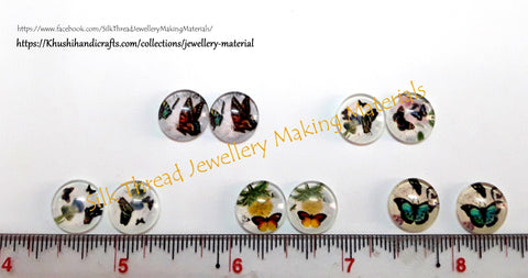 12mm Butterfly cabochon Combos