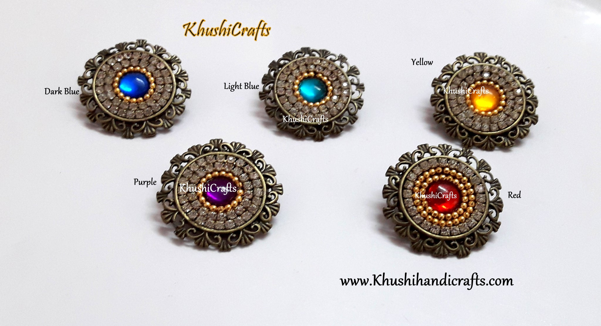 Handmade Saree Brooch