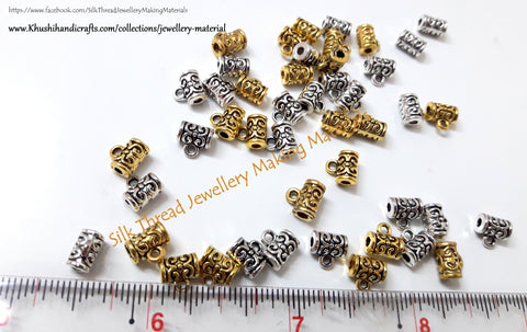 Antique Gold/Silver Designer Bail/ Bails used for making Necklaces BL04