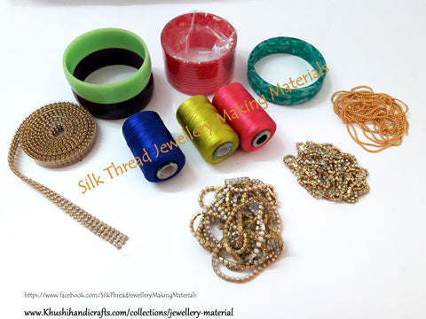 Silk Thread Bangles Making Materials/Kit Online
