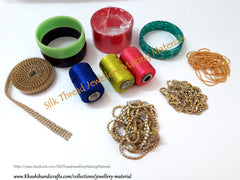 Silk thread Bangles Making kit Online!