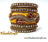 Raw Silk Bangle sets