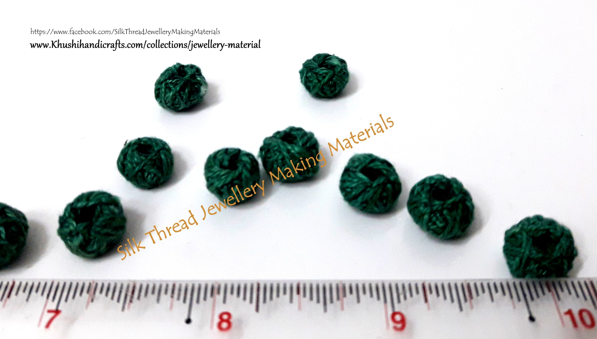 Cotton Thread Bead