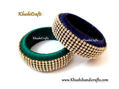 Silk Thread Kada Bangles