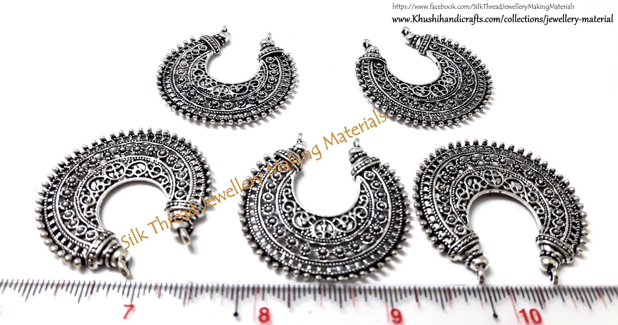 Chandbali Pendant Connectors