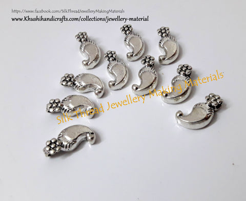 Kolhapuri beads  Antique Silver Pattern 11.Sold Per piece!