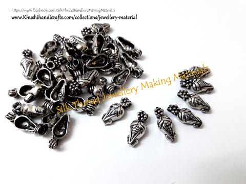 Kolhapuri Beads Antique Silver Pattern 14.Sold Per piece!