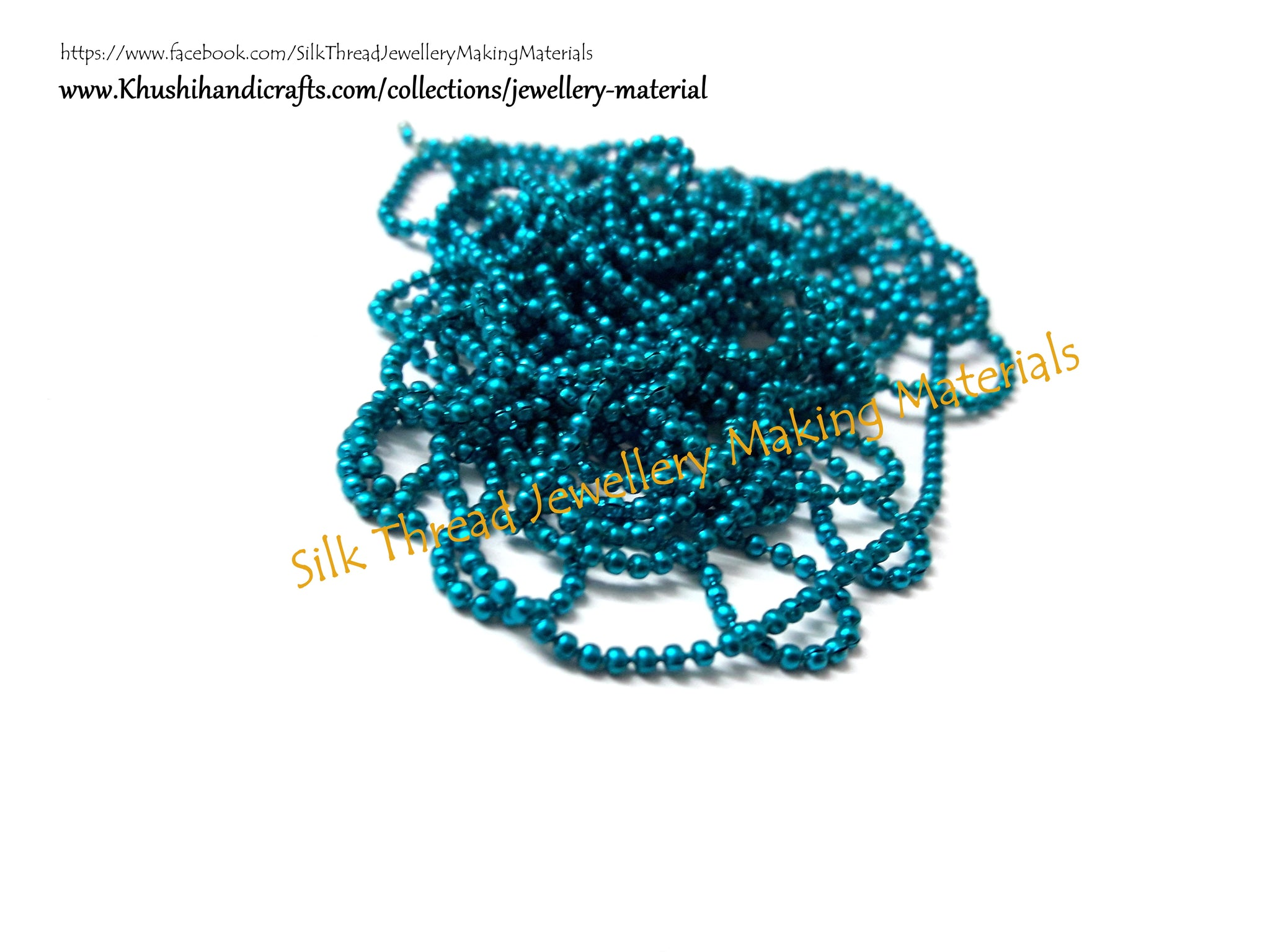 Ball chain Size 0.Sold per line! - Khushi Handmade Jewellery