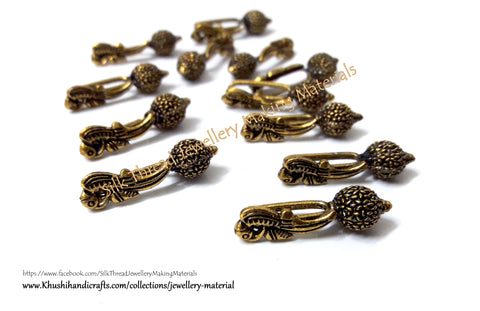 Kolhapuri Beads Antique Gold Pattern 16.Sold Per piece!