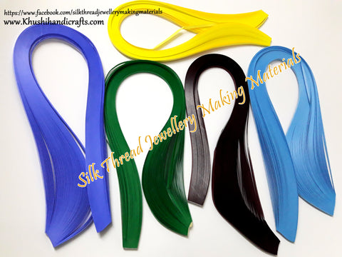 Quilling Strips 3mm Combo 1