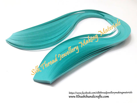Aqua Blue 3mm Quilling Strips