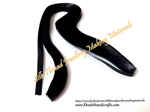 Black Quilling Strips - 10mm