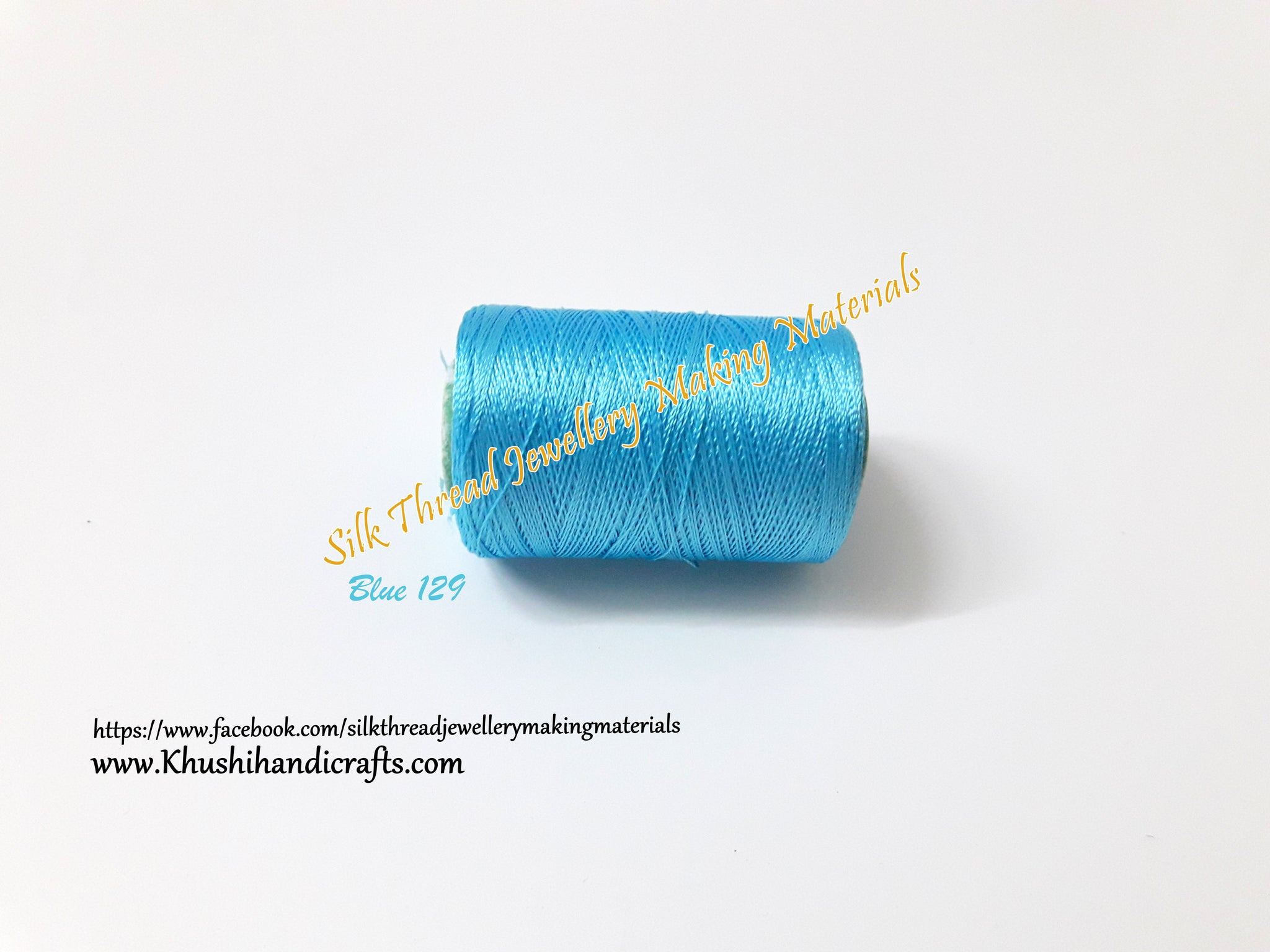 Blue Silk Thread