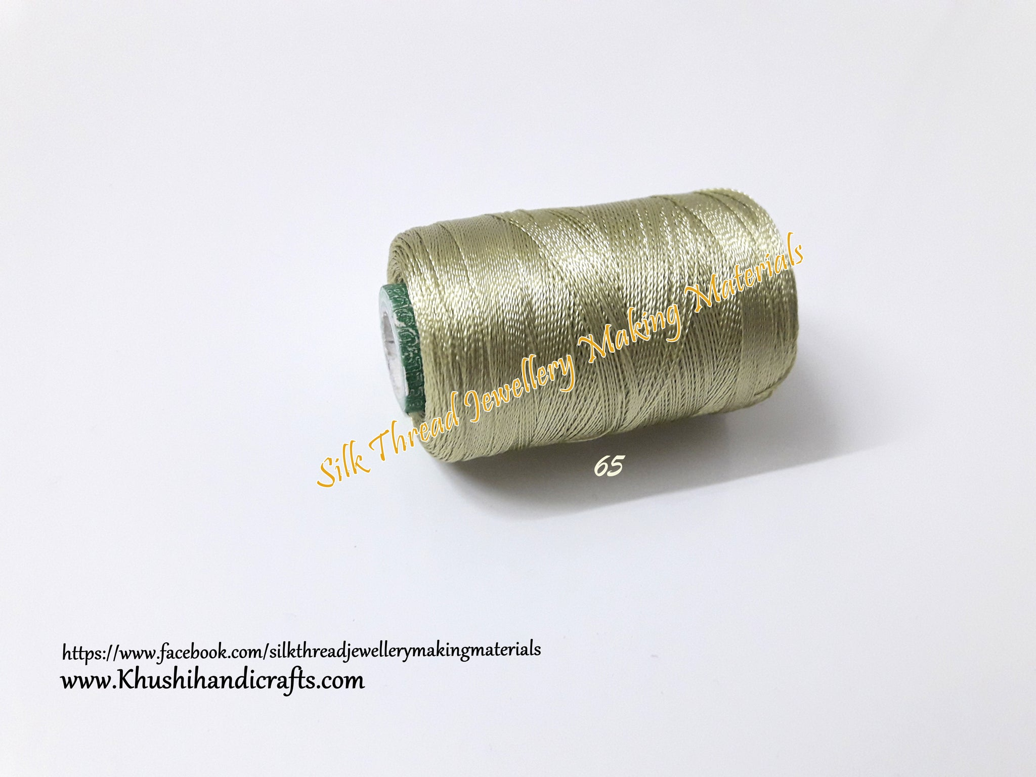 Shade 65 Double Bell Silk Thread