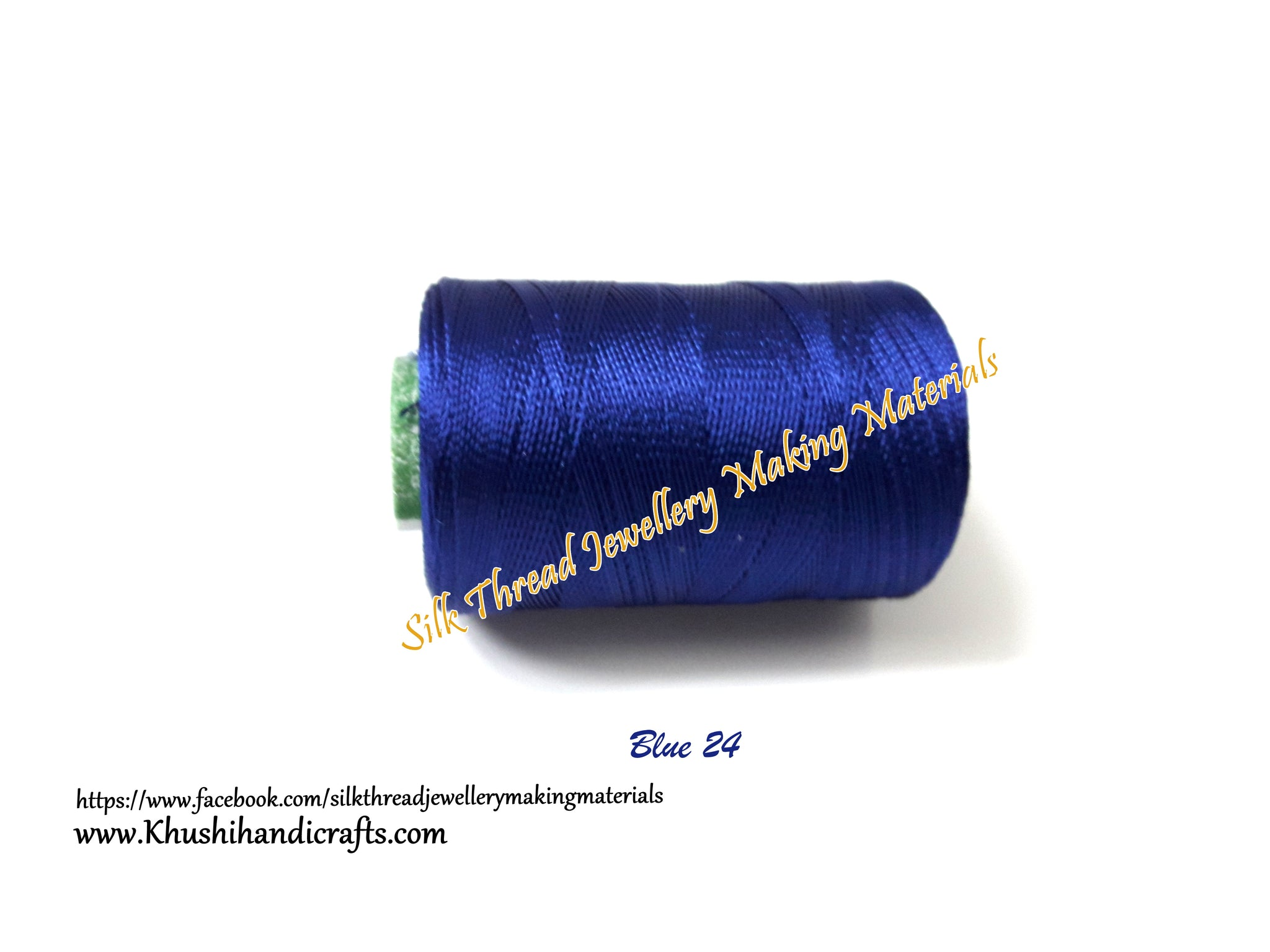 Royal Blue Silk Thread