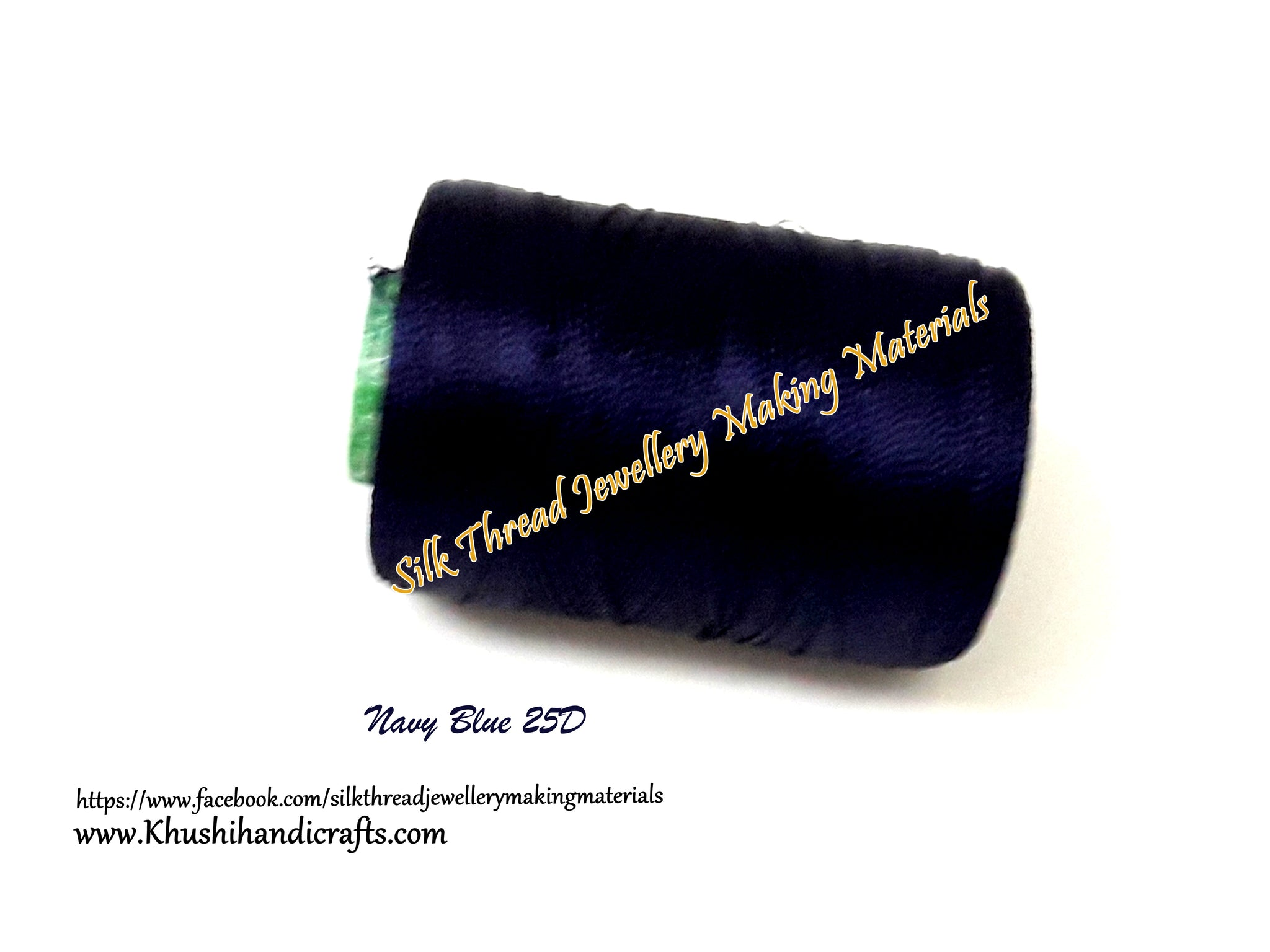 Navy Blue Silk Thread