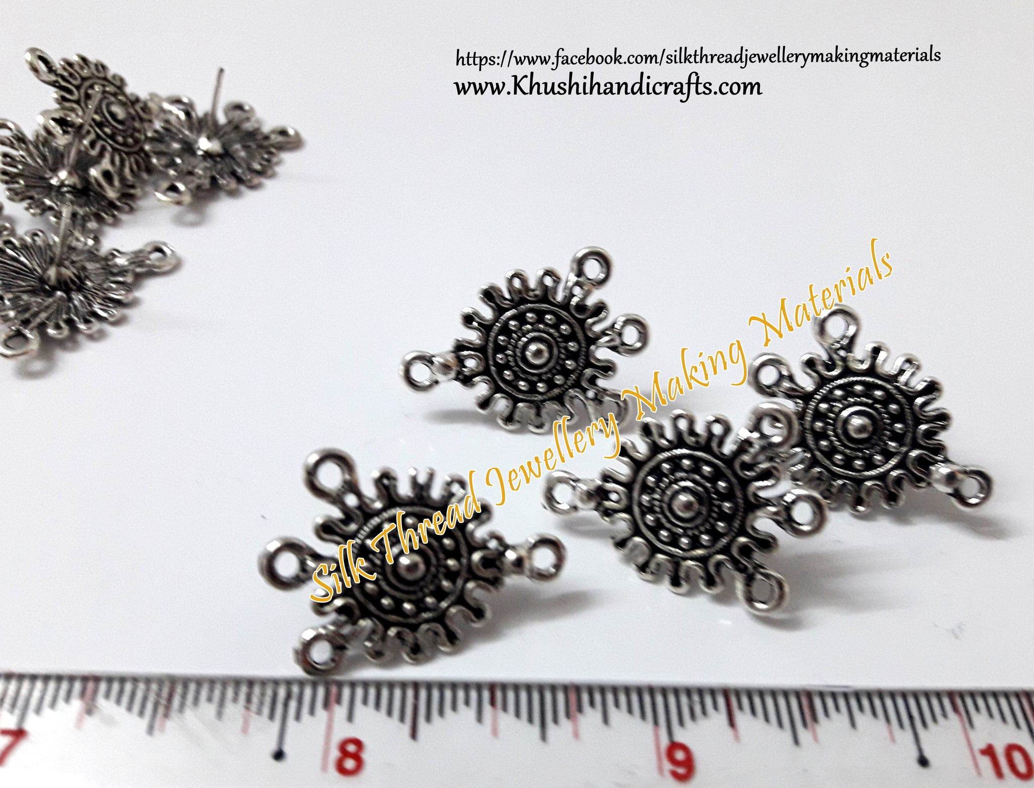 Antique Silver studs