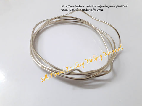 13 Gauge Wire | Craft Wire DIY For Jewellery Making & Crafts Work -Silver