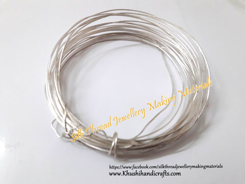 20 Gauge Wire | Craft Wire DIY For Jewellery Making & Crafts Work -Silver