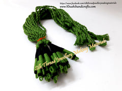 Green Black Cotton Dori