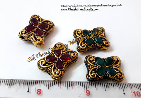 Victorian Beads  21mm*7mm .Sold Per piece! VB1