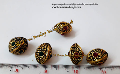 Victorian Beads  20mm*15mm .Sold Per piece! VB4