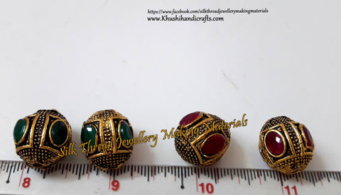 Victorian Beads  17mm .Sold Per piece! VB8