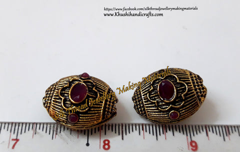 Victorian Beads  22mm*11mm .Sold Per piece! VB12