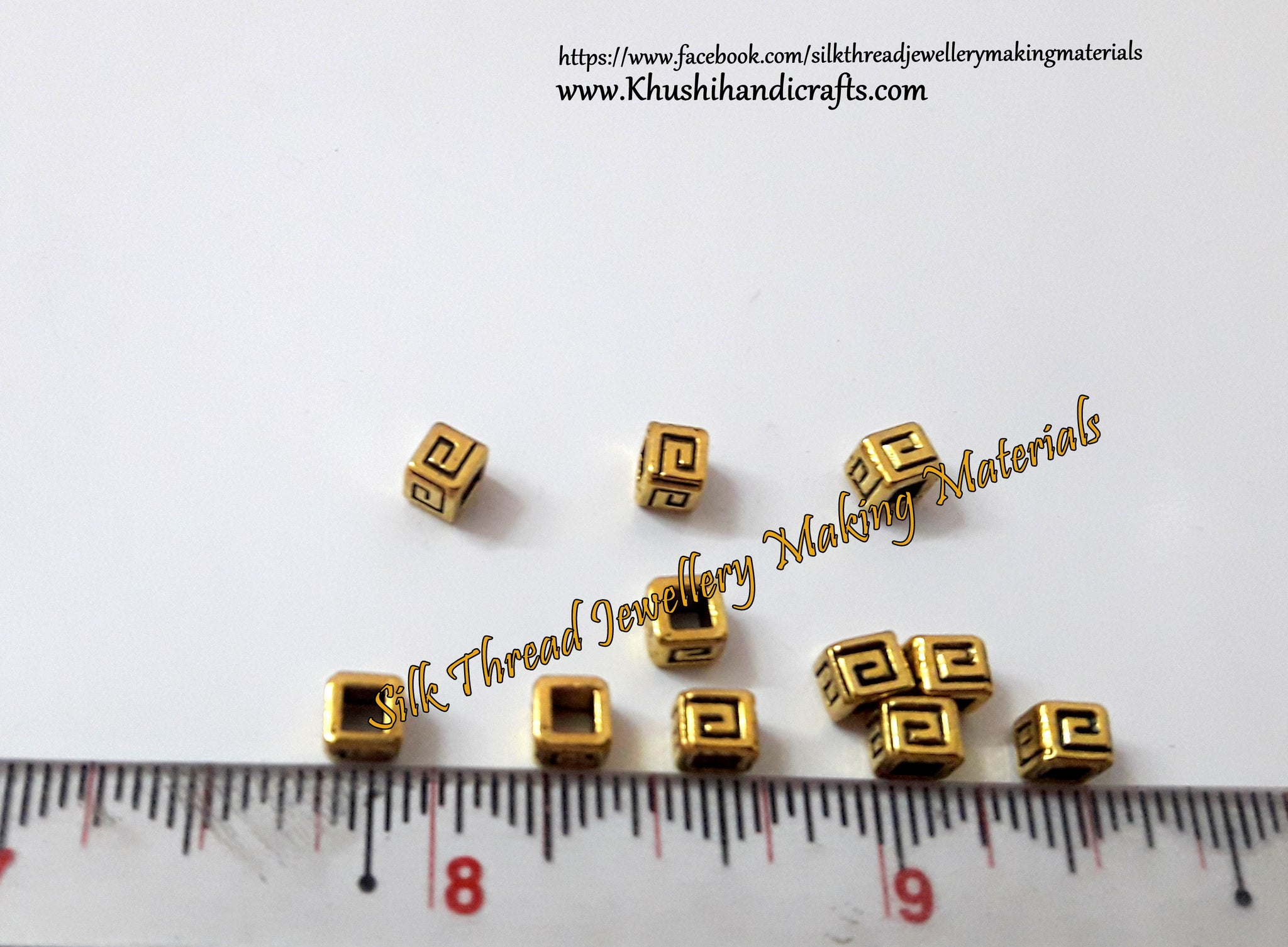 Square Spacer Beads