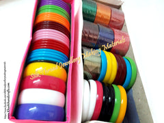 Bangles for silk thread jewellery